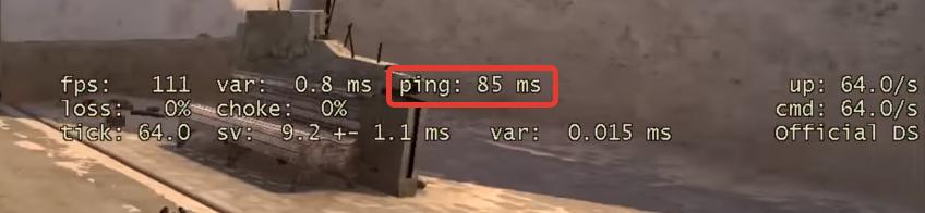 PING в cs go