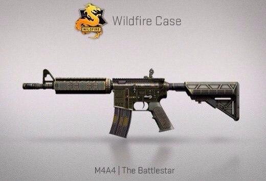 Крафт : M4A4 | The Battlestar