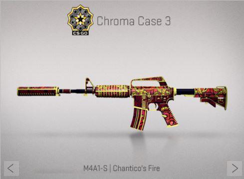 Крафт : M4A1-S | Chantico's Fire