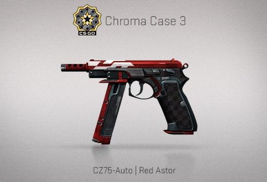 Крафт : CZ75-Auto | Red Astor