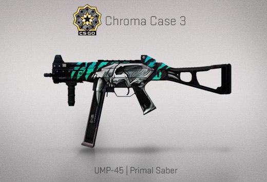 Крафт : UMP-45 | Primal Saber