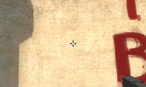 Расстояние между линиями прицела в cs go