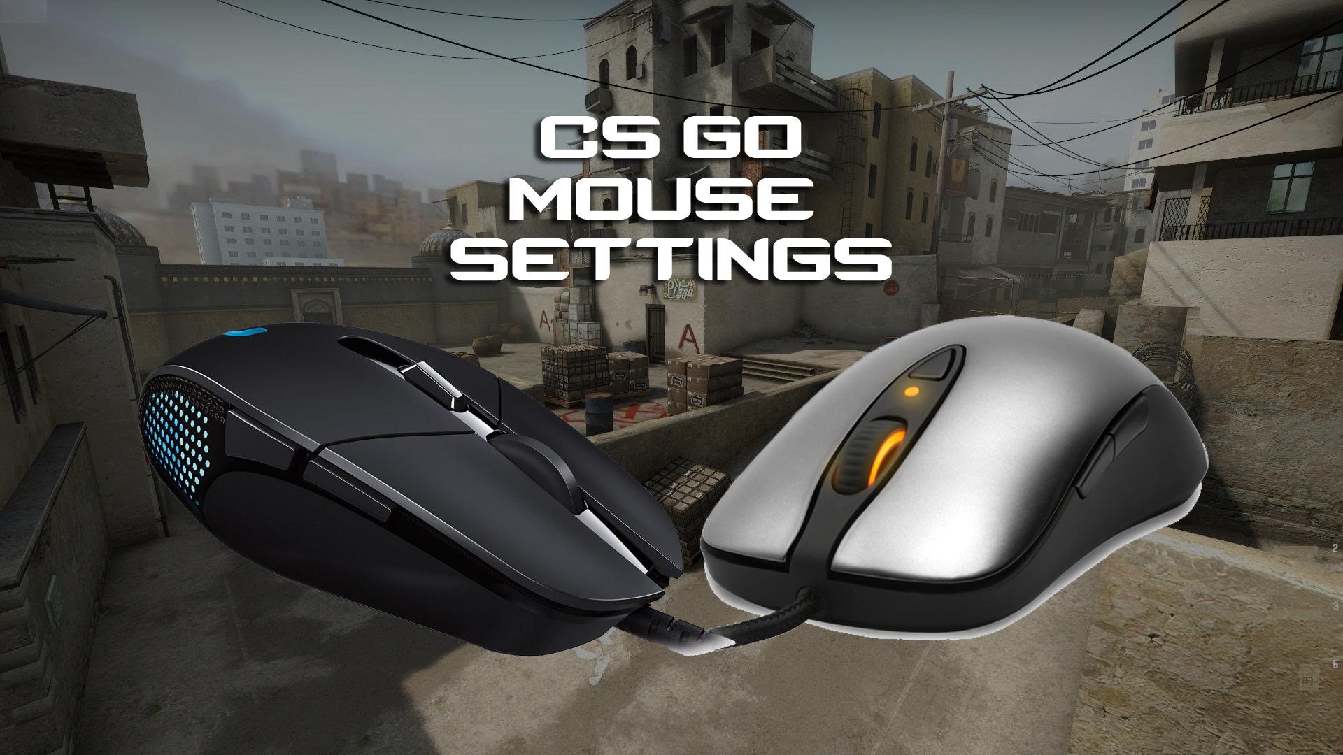 Настройка мыши для CS GO
