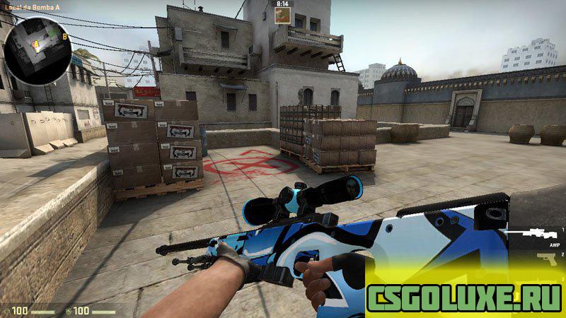 Graffiti AWP для CS GO