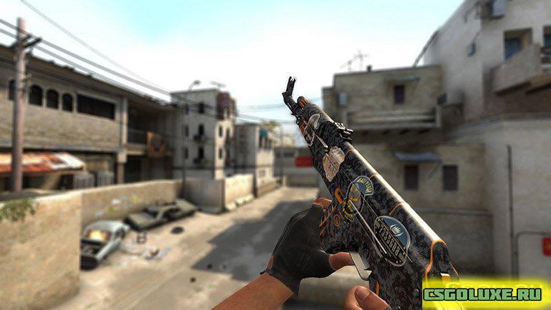 Модель AK 47 Скорость для кс го