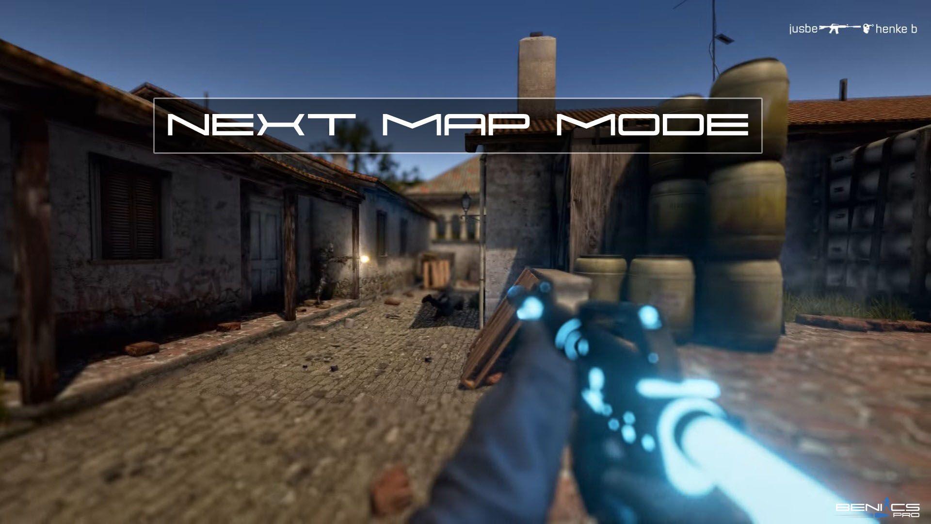Плагин Next Map Mode for для CS GO