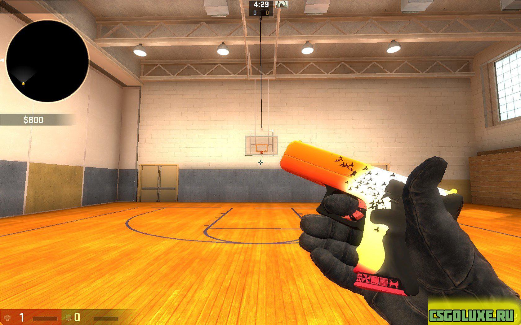 Модель Glock 18 Savanna для CS GO