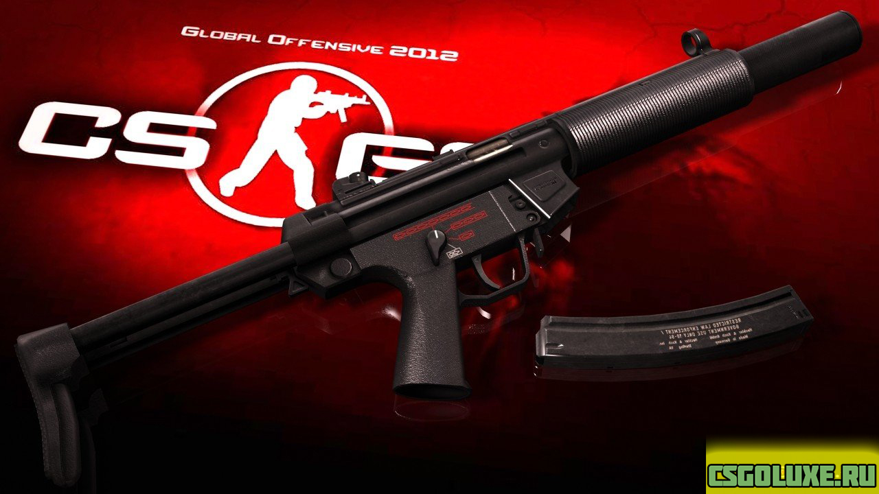 MP5SD для MP7 для CS GO