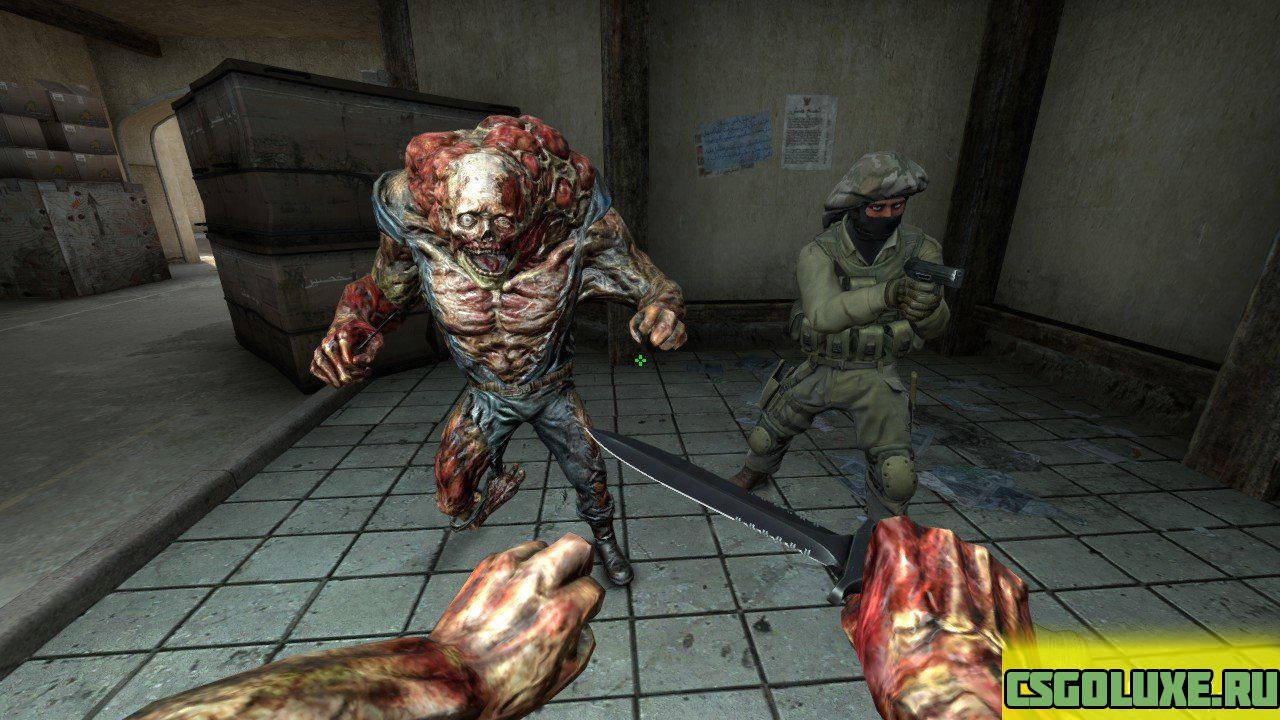 Модель монстра из Fallout 3 для CS GO