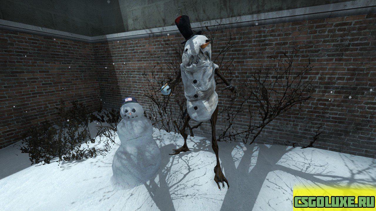 снеговик  для CS GO