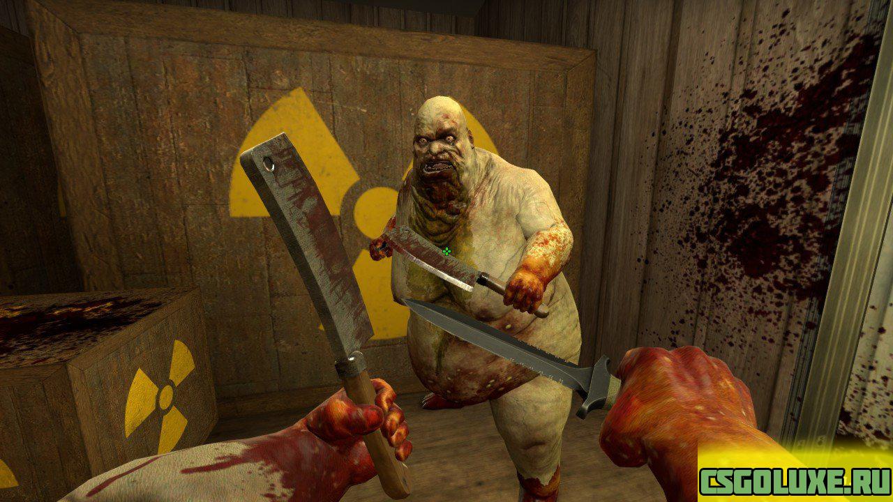 Модель жирдяя из Killing Floor 2 для кс го