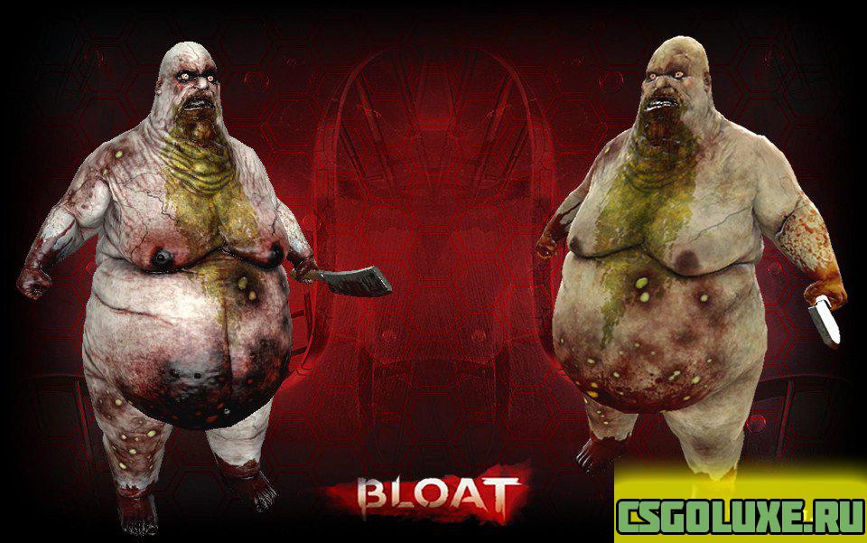 Модель жирдяя из Killing Floor 2 для CS GO