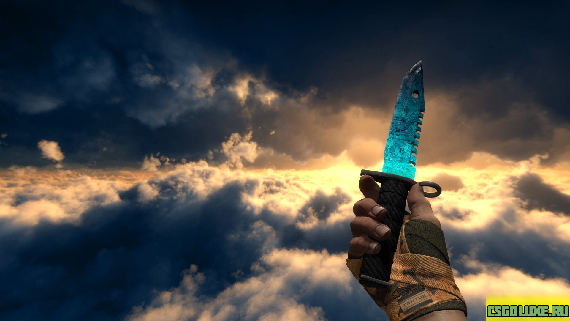 Модель ножа M9 Bayonet