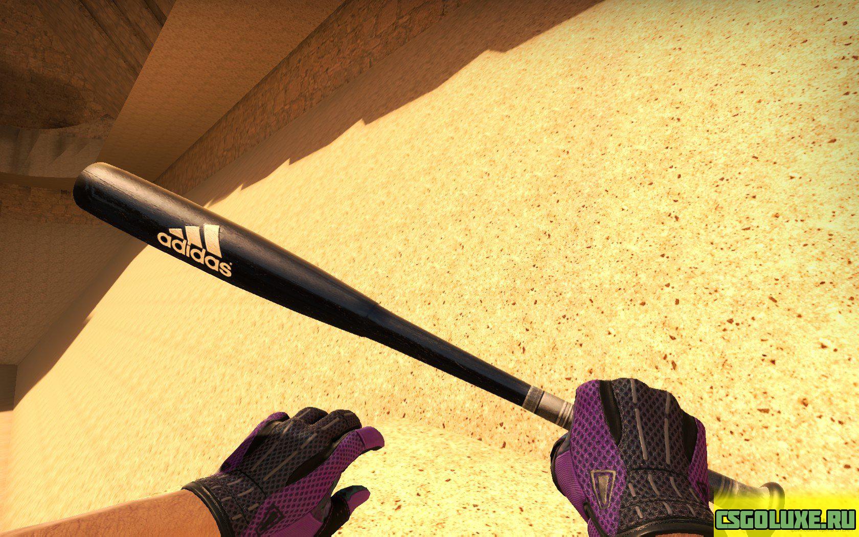 Модель биты Adidas Baseball Bat для CS GO