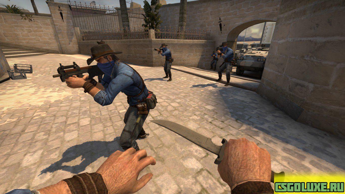 Модель Gunslinger для CS GO