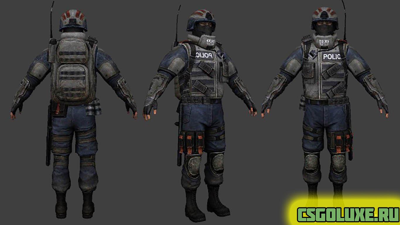 Модель Бойца из игры Homefront для кс го