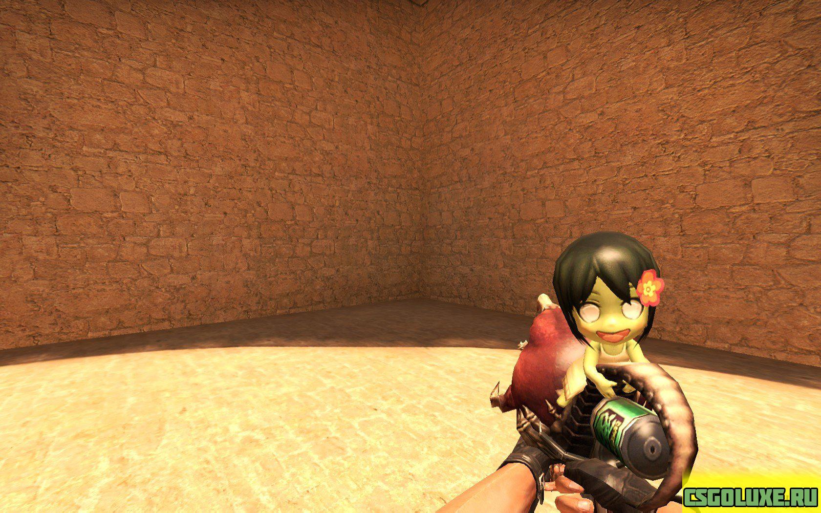 Модель оружия из Counter-Strike Online