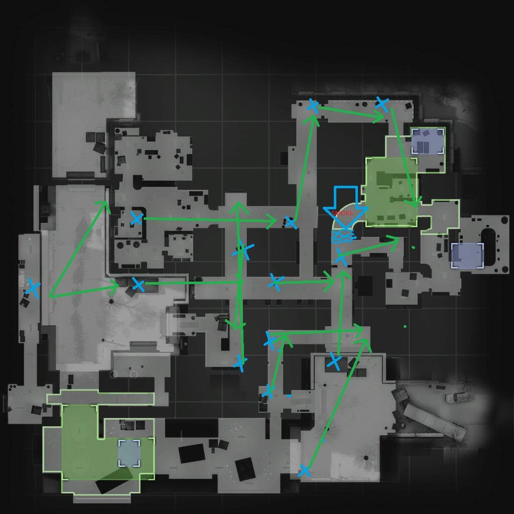 карта office cs go обозначения