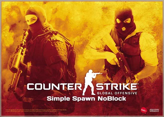 Плагин Simple Spawn NoBlock для CS GO