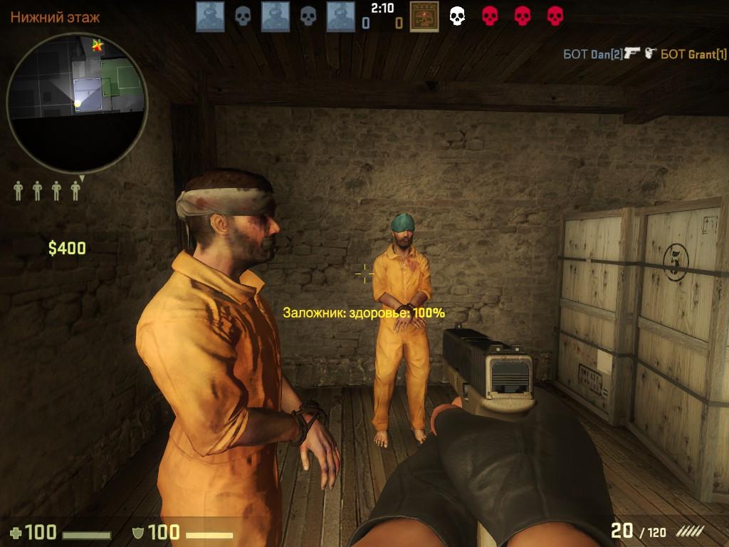 Плагин заложников для сервера CS GO