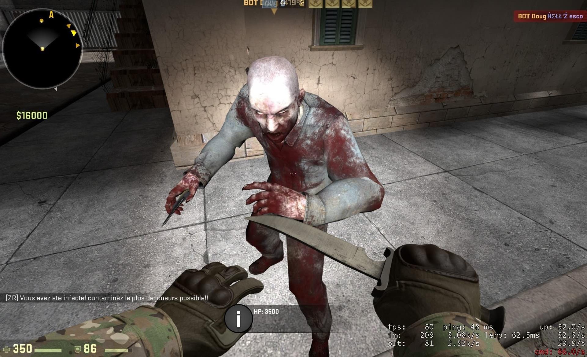 Zombie Mod для CS GO