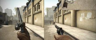 Модель револьвера Смит И Вессон для CS GO