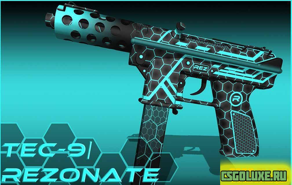 Tec-9 Rezonate для CS GO