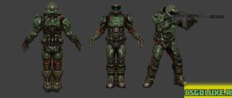 Модель из doom для CS GO