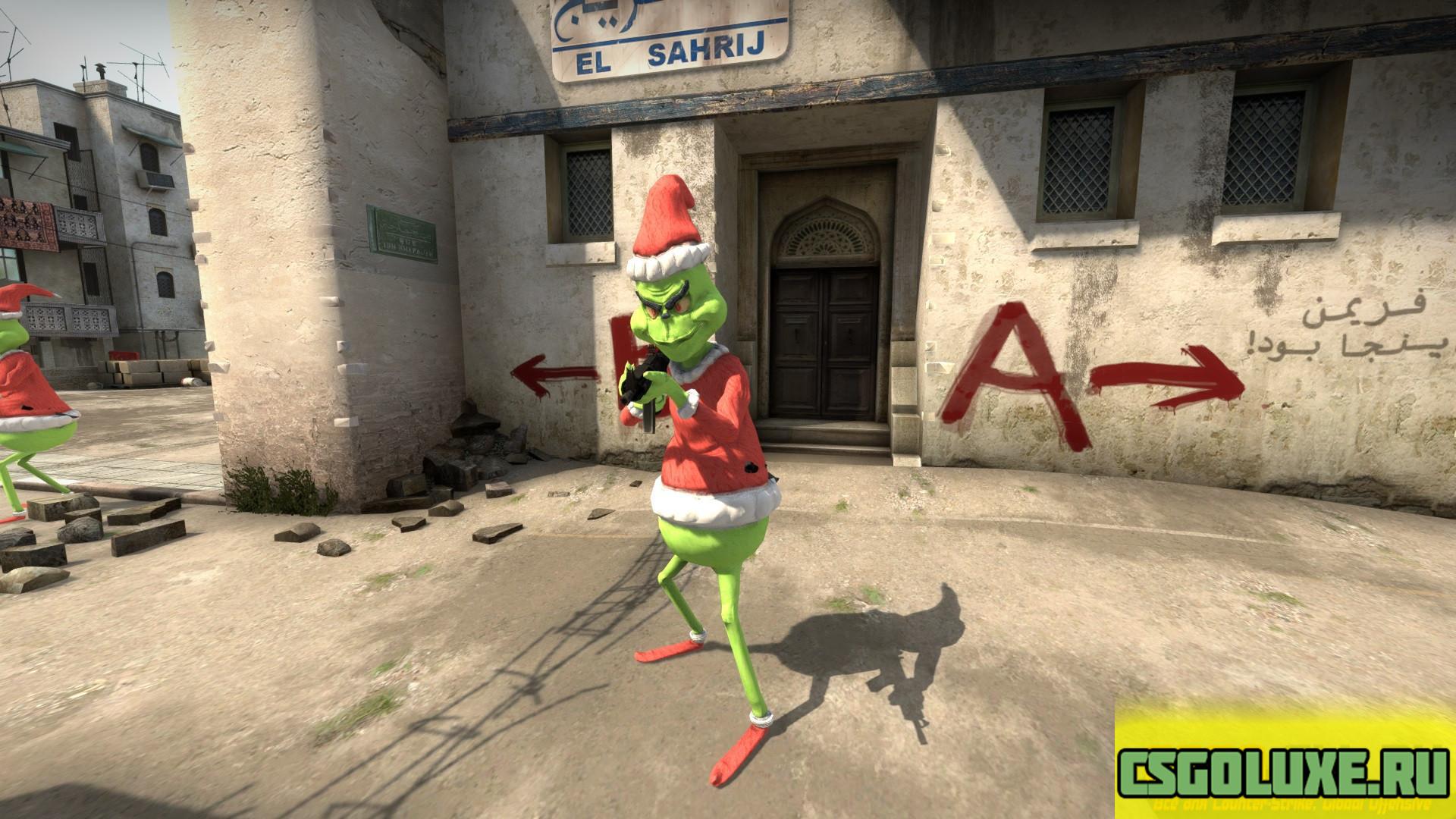 Модель Grinch для CS GO