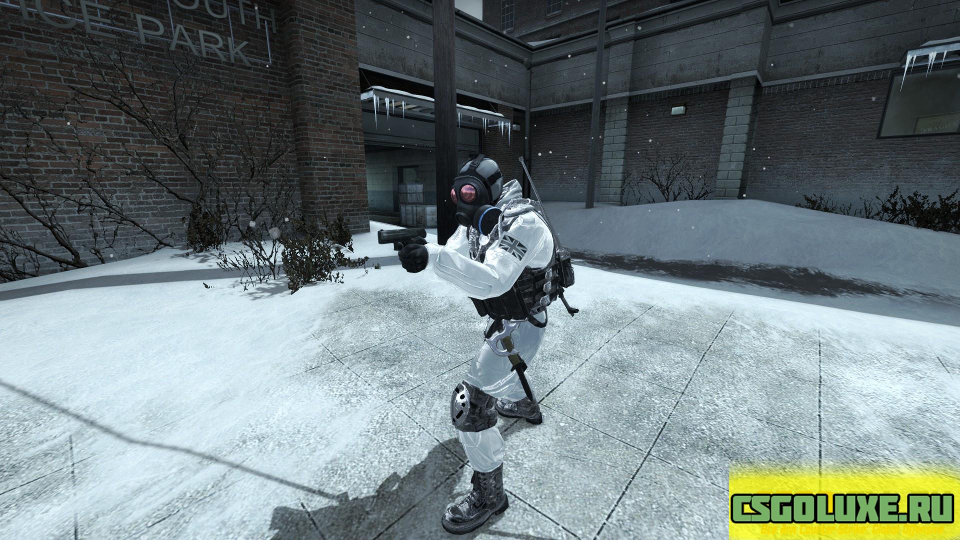Модель SAS White для CS GO
