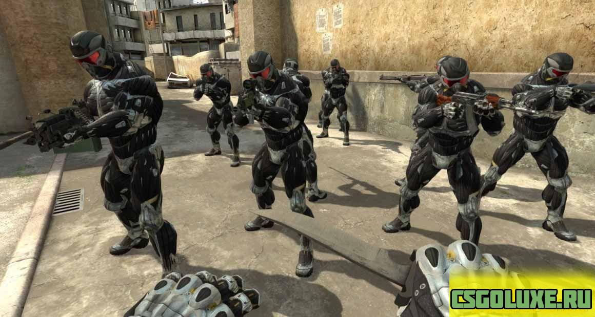Модель Crysis для CS GO