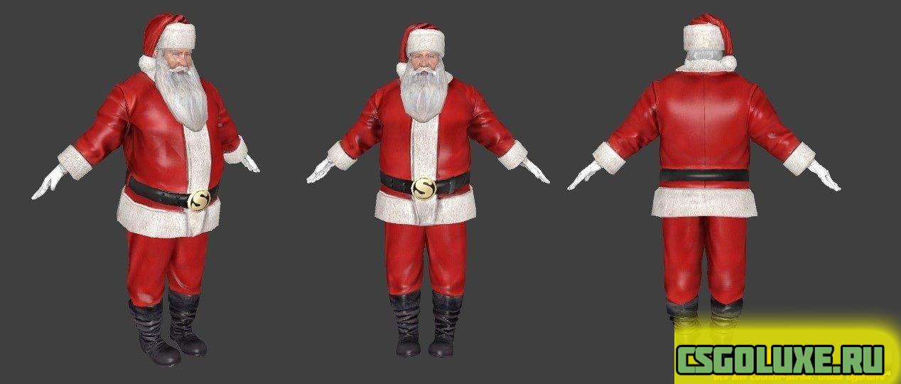 Модель Santa Claus для CS GO