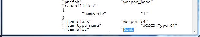 Как переименовать бомбу В CS GO