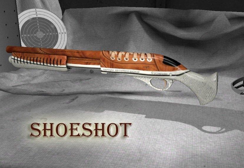 Модель SHOTGUN - BUTSHOT для CS GO