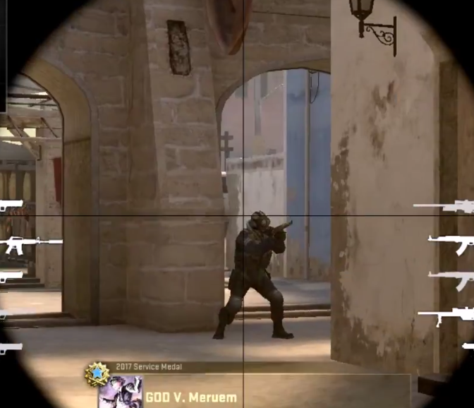 Как стрелять с SSG 08 в cs go