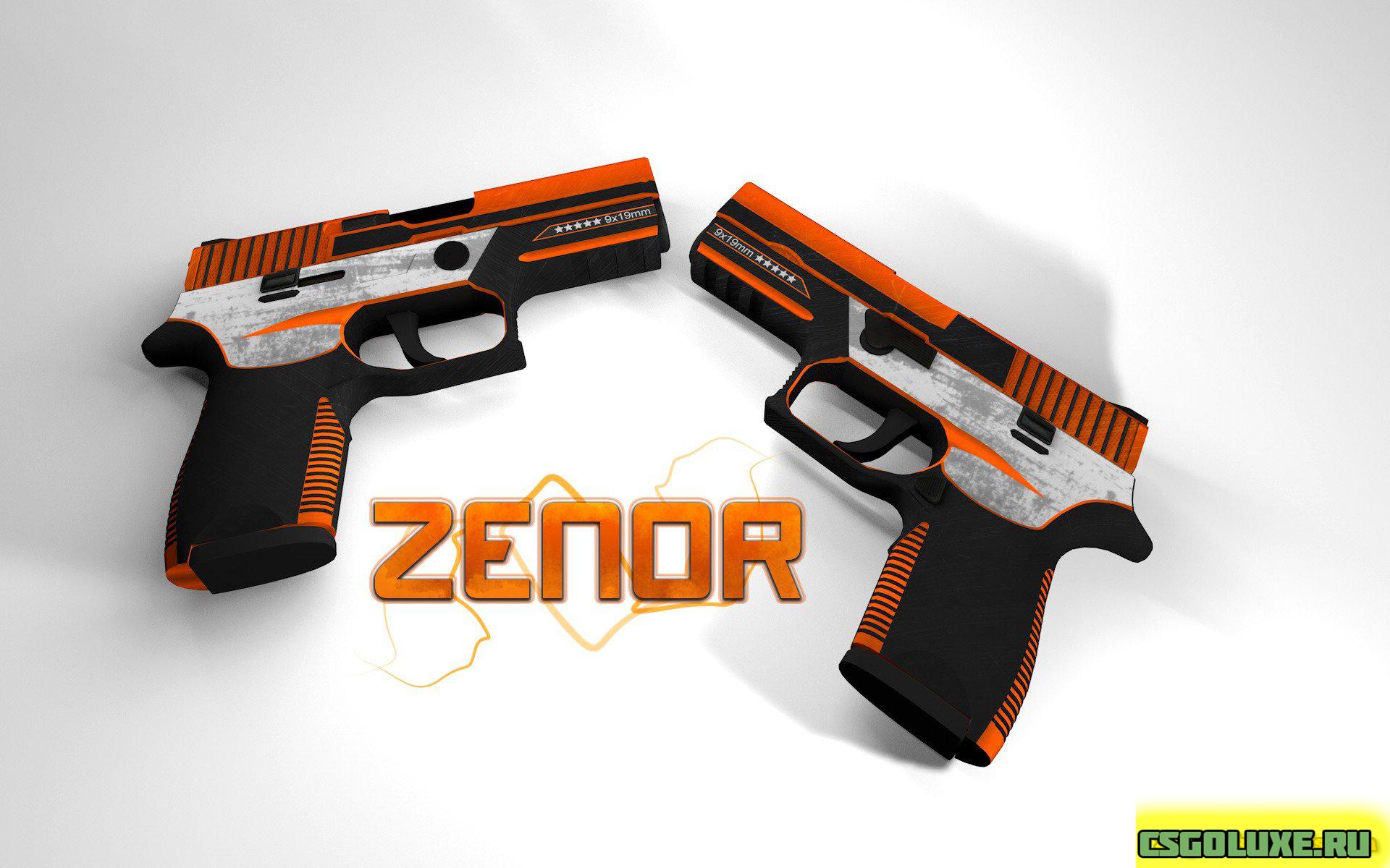 Модель P250 ZENOR В CS GO