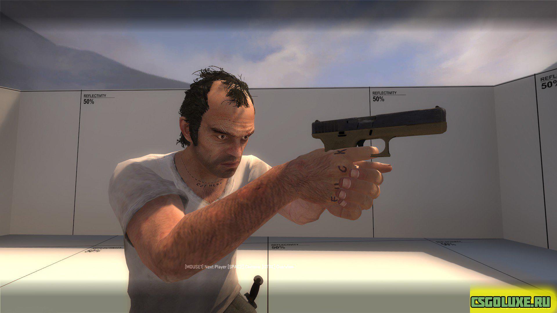 Модель Тревора из GTA V для CS GO