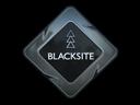 Наклейка Blacksite в кс го