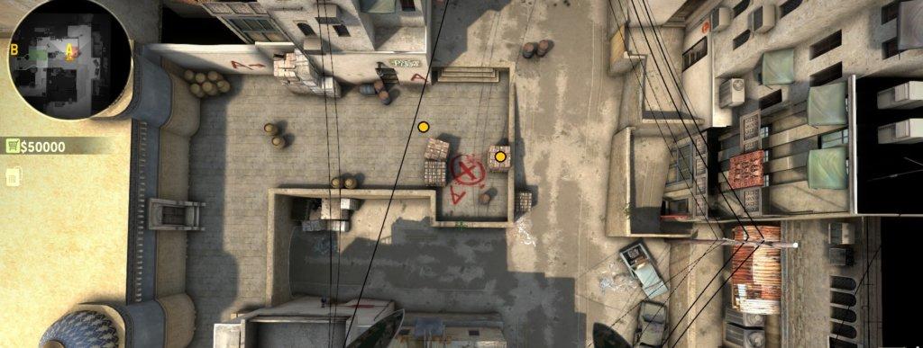 Как и куда ставить бомбу в cs go