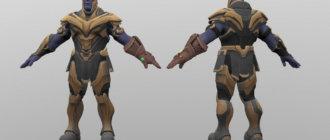 Модель Танос для CS GO