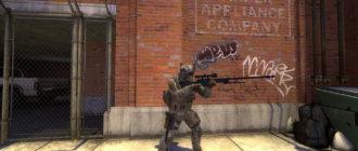 Модель игрока из Warface для CS GO
