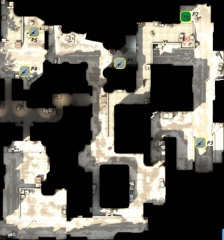 Тактики на карте Dust 2 для cs:go