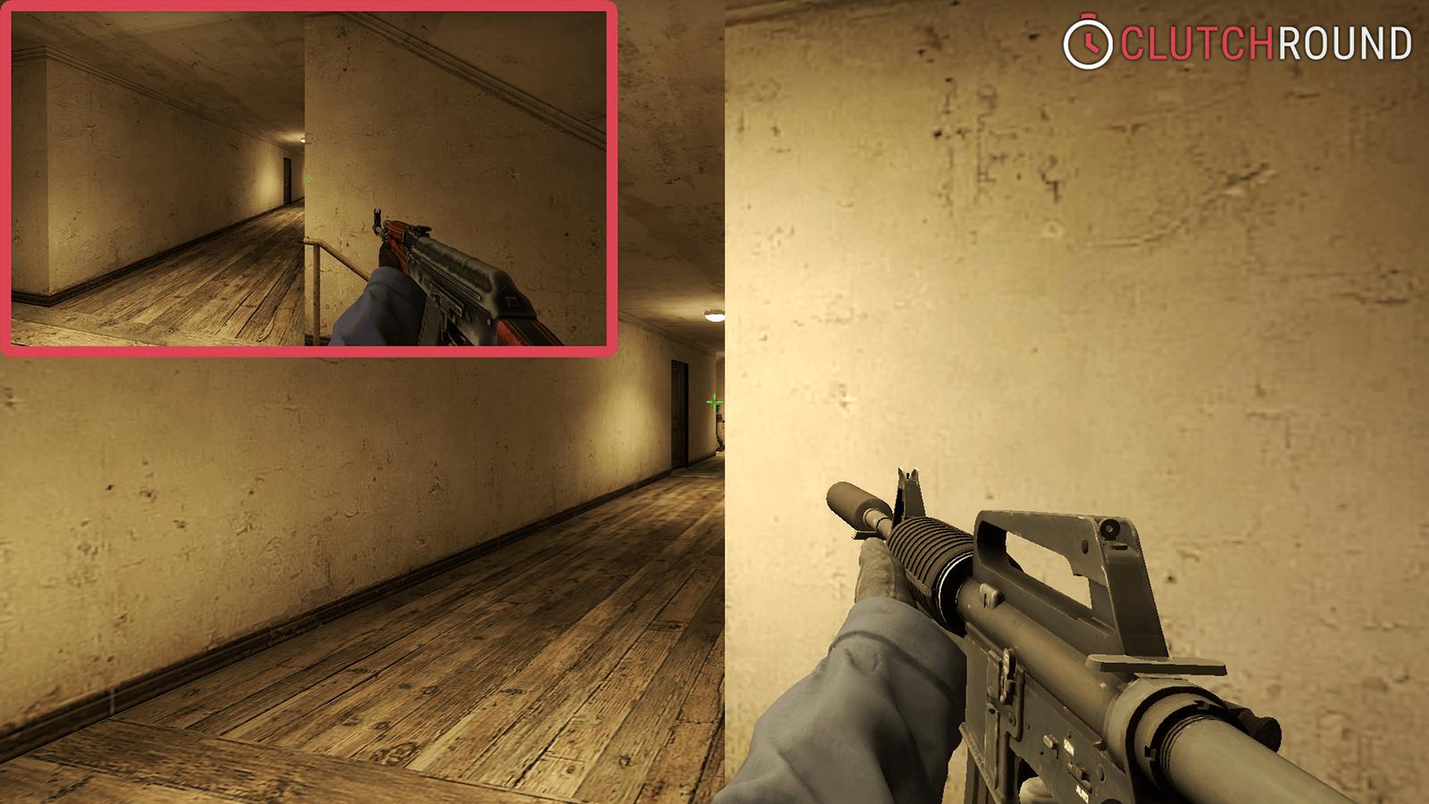 Как стрелять из-за угла в СS:GO