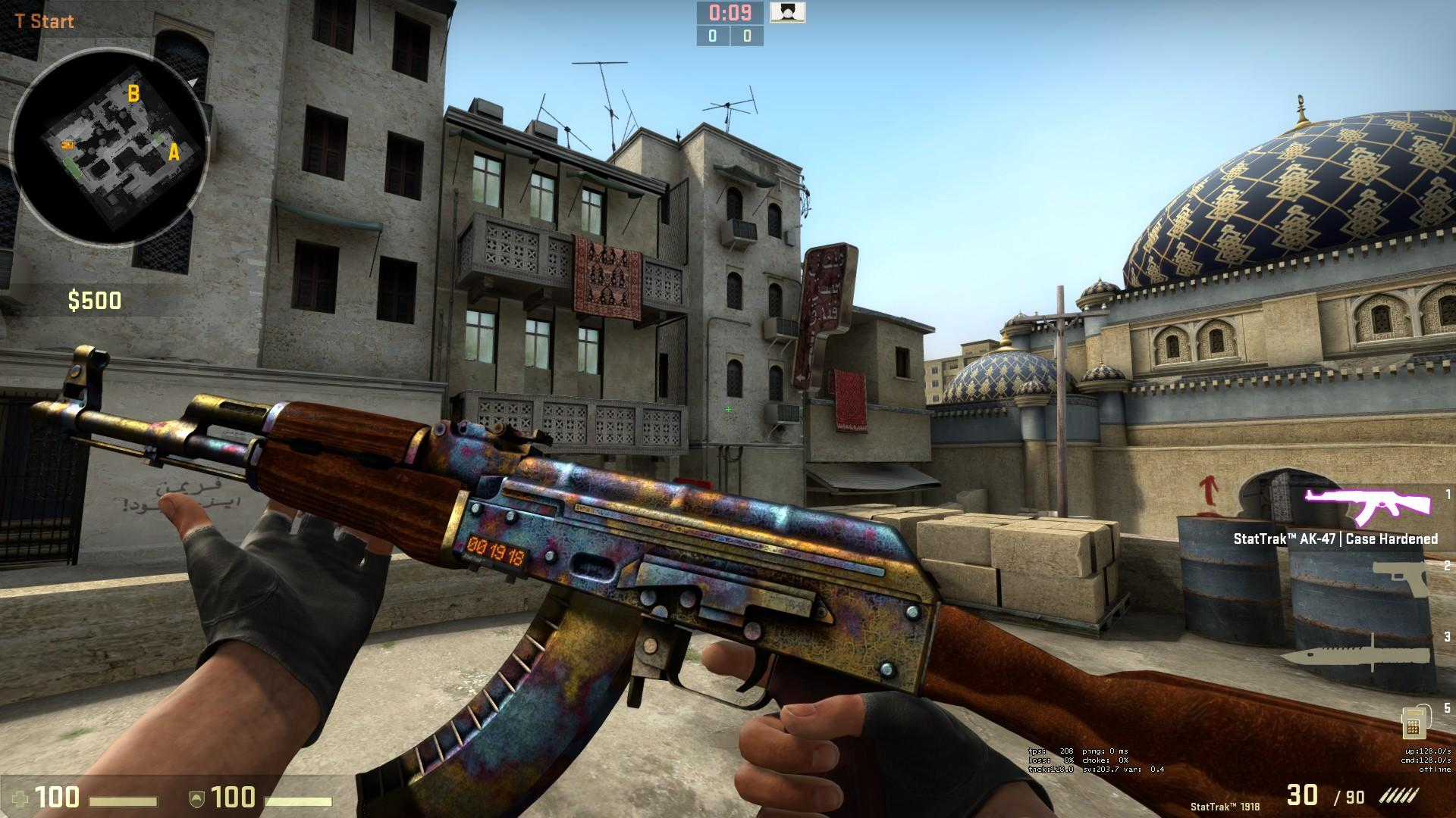 StatTrak AK-47 Поверхностная закалка