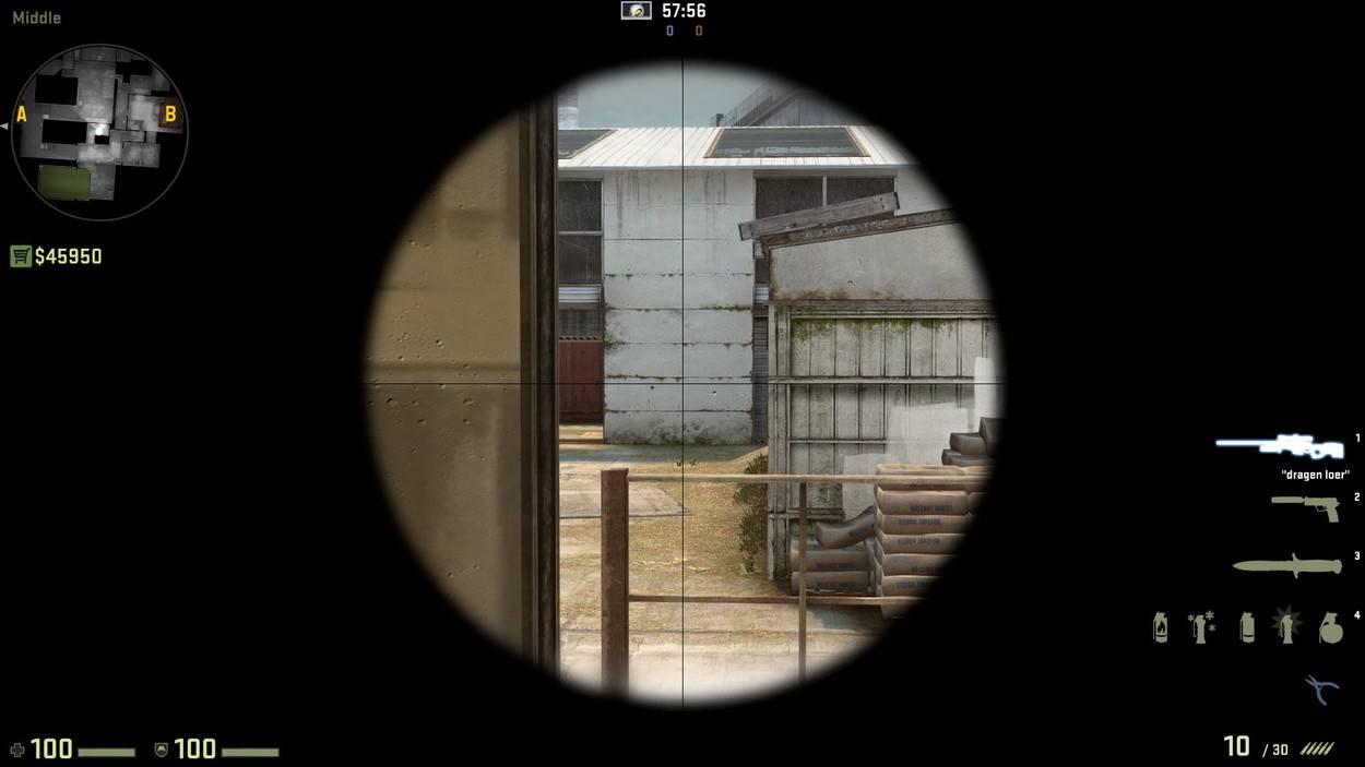 Прострелы на карте кэш кэш кс го