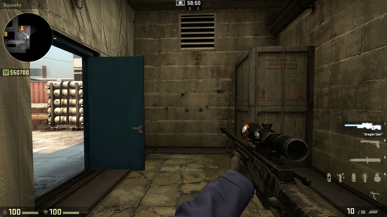 прострелы на cache cs go