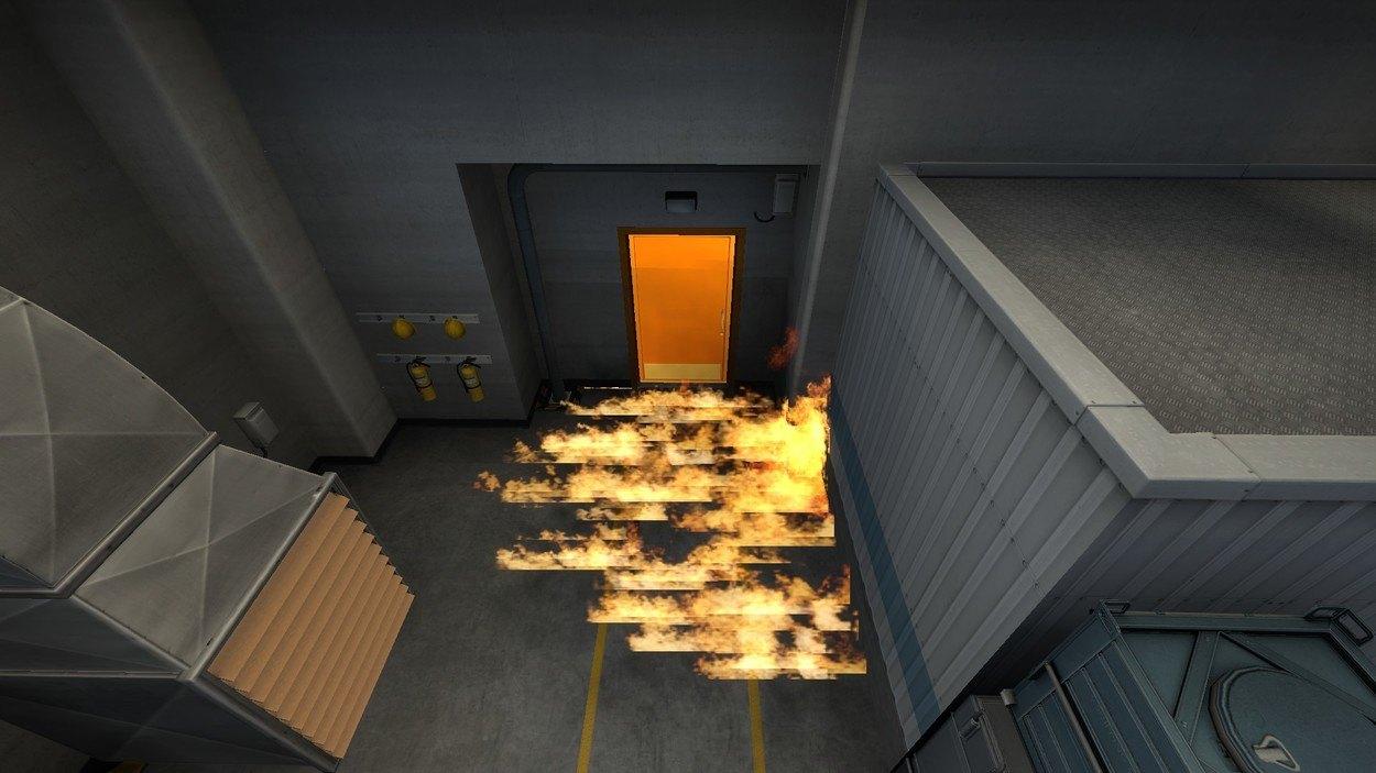 раскидки гранат Nuke