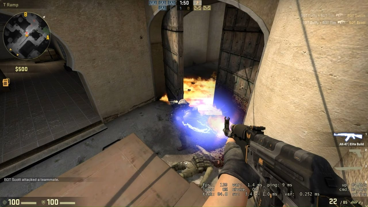 Плагин Zeus Tracer Bullets для CS GO