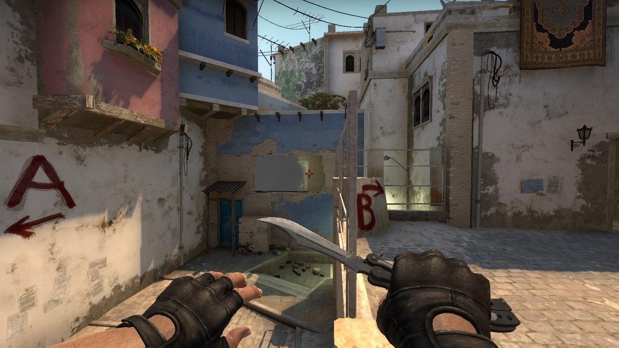 раскидки на карте Mirage в CS:GO