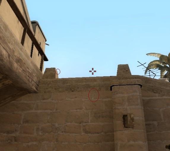 раскидки на карте мирейдж в CS:GO